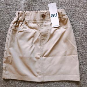 【GUキッズ】値札を何度も見直した破格値のカラースカート