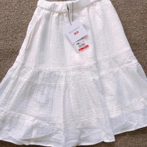 【UNIQLOキッズ】来年用に購入したJWアンダーソンのスカート