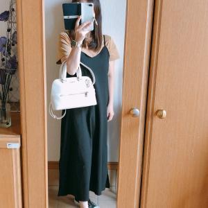 【UNIQLO】UのTシャツに合わせたFLURAのバッグ