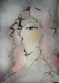 絵画<アトランダム> PART55<女性の肖像>(アクリル) 油絵屋大哲‐公式ホームページ