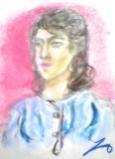 絵画<アトランダム>【ホモ・サピエンス】 <女性の肖像> 油絵屋大哲‐公式ホームページ