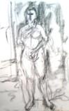 絵画<アトランダム>【ホモ・サピエンス】 <裸婦>(デッサン) 油絵屋大哲‐公式ホームページ
