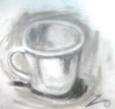 絵画<アトランダム> 「カップ」(デッサン) 油絵屋大哲‐公式ホームページ