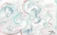 絵画<アトランダム> 「MUDAI」(色鉛筆) 油絵屋大哲‐公式ホームページ