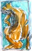 絵画<アトランダム> 「窮屈」(アクリル) 油絵屋大哲‐公式ホームページ