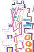 絵画<アトランダム> 「WOMAN」(マジック) 油絵屋大哲‐公式ホームページ