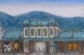 「関門・門司港風景」 『門司港駅』(油絵)1号 油絵屋大哲‐公式ホームページ