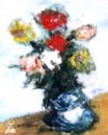 「フラワー」 油絵 油絵屋大哲‐公式ホームページ