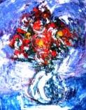 「フラワー」 油絵(F0号) 油絵屋大哲‐公式ホームページ