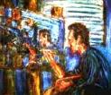 「男性の肖像」 油絵(F10号) 油絵屋大哲‐公式ホームページ