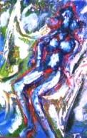 「裸婦立像」 油絵(SM号)¥40,000 油絵屋大哲‐公式ホームページ
