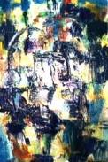 「MUDAI」(抽象) 油絵(SM号)¥40,000 油絵屋大哲‐公式ホームページ #油絵屋 #大哲 #画家 #公式HP #門司港レトロ #大正時代 #鬼滅の刃 門司港レトロ<大正浪漫>鬼滅の刃 門司港レトロ<大正時代>鬼滅の刃