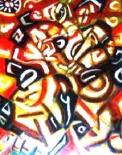「シガレット」(半抽象) 油絵(F50号)¥750,000 油絵屋大哲‐公式ホームページ #油絵屋 #大哲 #画家 #公式HP #門司港レトロ #大正時代 #鬼滅の刃 門司港レトロ<大正浪漫>鬼滅の刃 門司港レトロ<大正時代>鬼滅の刃