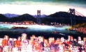 「関門海峡展望」 油絵(M10号)¥200,000 油絵屋大哲‐公式ホームページ