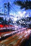「関門大橋」(和布刈) 油絵(SM号)¥40,000 油絵屋大哲‐公式ホームページ #油絵 #門司港 #関門海峡
