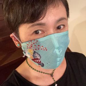 久しぶりのマスク製作