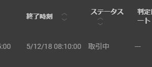 ■□■8月20日HighLow取引結果