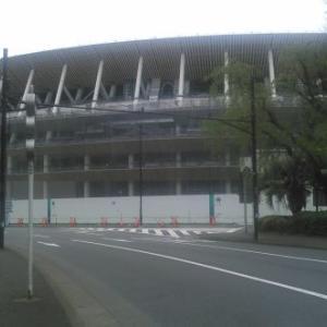 都心散策ー新国立競技場・聖徳記念絵画館