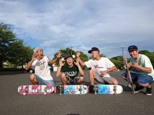 フリースタイルスケートボード練習会