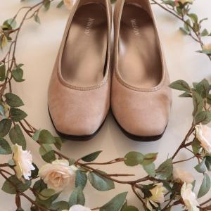 春色パンプス〜旬の靴