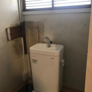民泊「ここたまや」プチリフォーム トイレ完成!