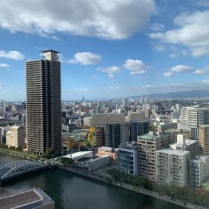 リーガロイヤルホテル大阪にて