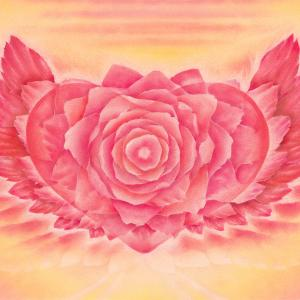 委縮してしまった心を、自ら開くためのバラのアート