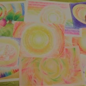 未公開アートをまとめてみたら、抽象画づくしだった..( 一一)