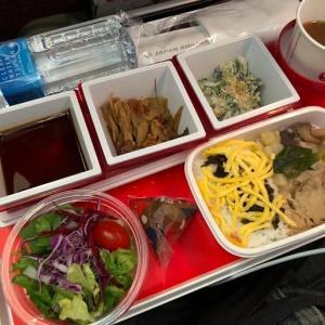 JL413 成田~ヘルシンキ エコノミー機内食