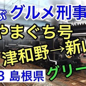 #023 SLやまぐち号 津和野→新山口(グリーン席) 蒸気機関車の旅