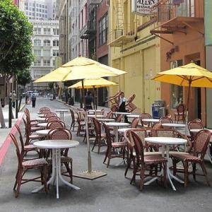 コロナ感染のお陰で SF レストラン・ビジネスの形態が変わる