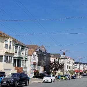 サンフランシスコ 10日ぶりに青空だ