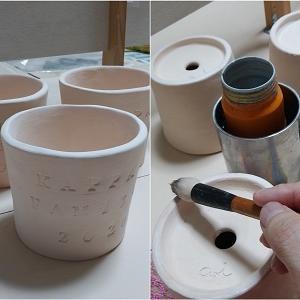 半磁器の小鉢 贈り物用 10