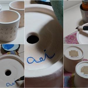 半磁器の小鉢 贈り物用 18