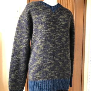 息子さんにセーターのプレゼント!