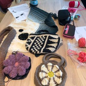 ワコールスタディホール京都で編み物教室♪