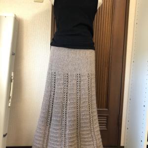 モヘアのスカート♪