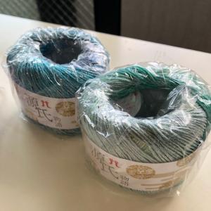 源氏物語 ハマナカの新商品でかぎ針編み