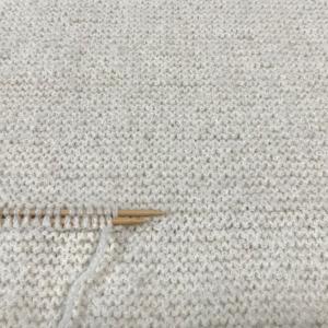 短くなったセーターをサイズアップ!