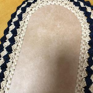 かぎ針で石垣編みのバッグ!