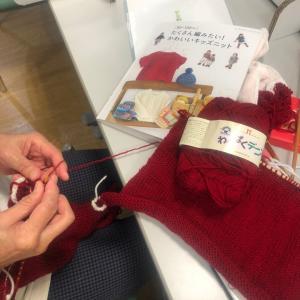 京都イオンのドリームで編み物教室⭐︎KIDのセーター!