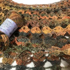 リッチモア ジヴェルニーの段染めの毛糸は秋色
