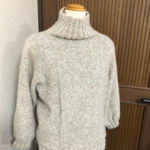 リッチモアのアルパカレジェーロの横編みのセーター!