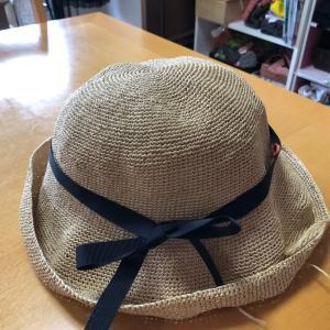 暑い夏に帽子⭐︎つばが大きい!