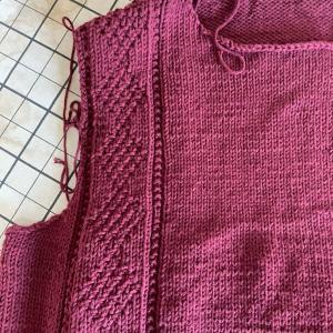 コットンでメンズのセーター!
