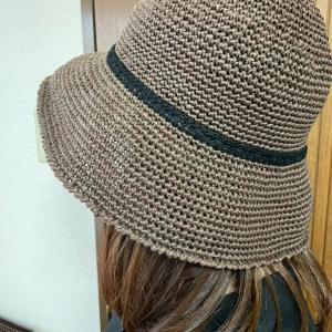 かぎ針編み⭐︎ニット帽子!