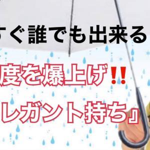 雨の写真☆エレガント持ち
