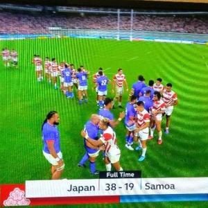 日本vsサモア