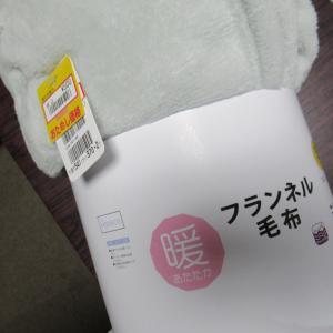 「毛布が500円!」  また富士山が!!
