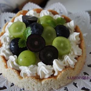 Gâteau de raisin